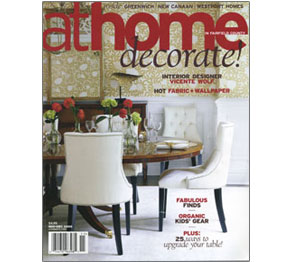 At Home Magazine Cover