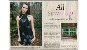 Lynn Chalk Article All Sewn Up