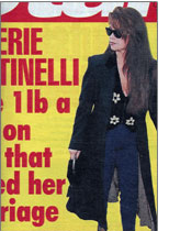 Valerie Bertinelli wearing Beaded Vest by Lynn Chalk